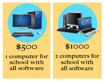 Donate a computer to Uddami!